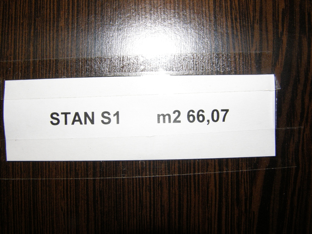 Slike su vezane uz ?lanak: S1, Petru�evec, 66,07 m2