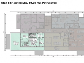 S17, Petruševec, 59,05 m2