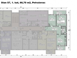 S7, Petruševec, 66,70 m2