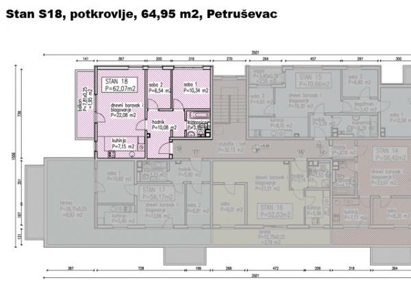 S18, Petruševec, 59,05 m2