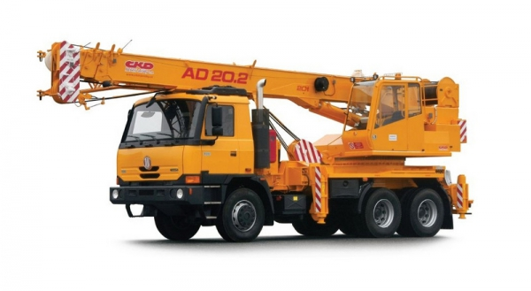 Auto dizalica Tatra AD20