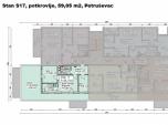 S17, Petru�evec, 59,05 m2