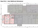S13, Petruševec, 56,98 m2