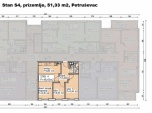 S4, Petruševec, 51,22 m2