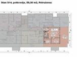 S14, Petruševec, 56,98 m2