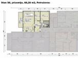 S6, Petruševec, 68,28 m2